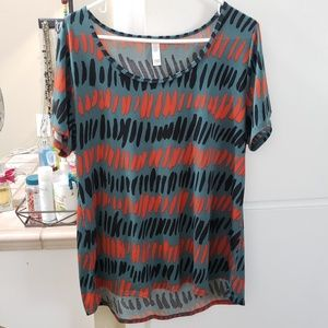 Simply Comfortable Classic Short Sleeve Blouse EUC